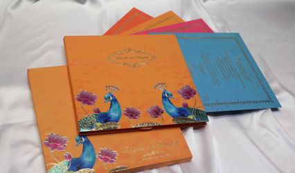Raga Wedding Cards