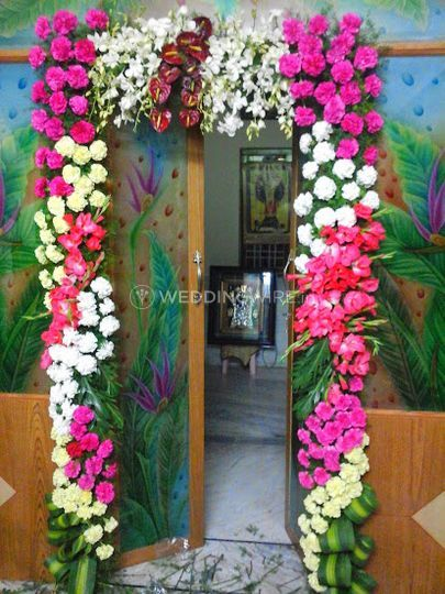 Beautiful floral decorations