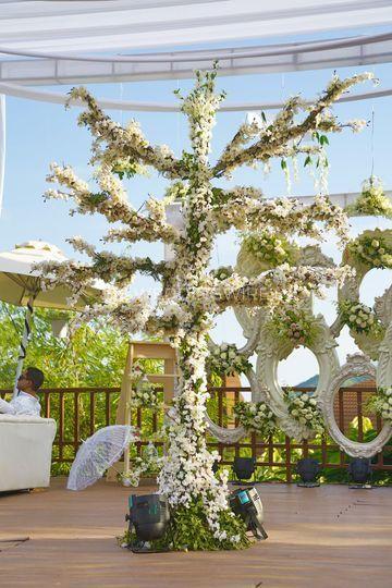 Udaipur wedding decor