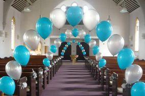 7 Star Balloon Decoration