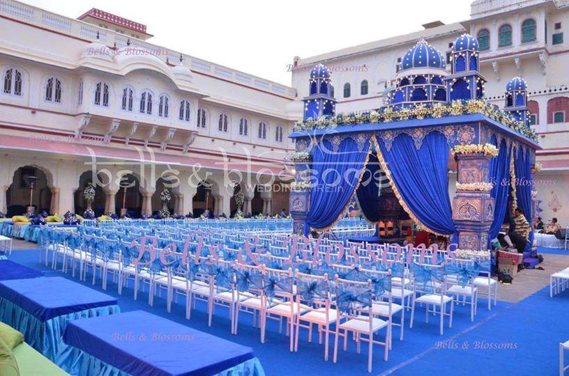 A wedding setup in jaipur
