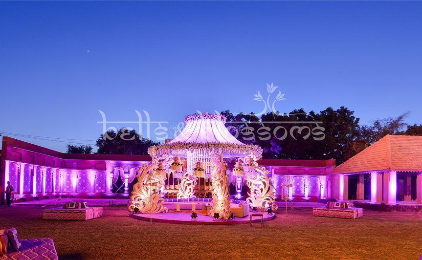 A wedding setup in jodhpor