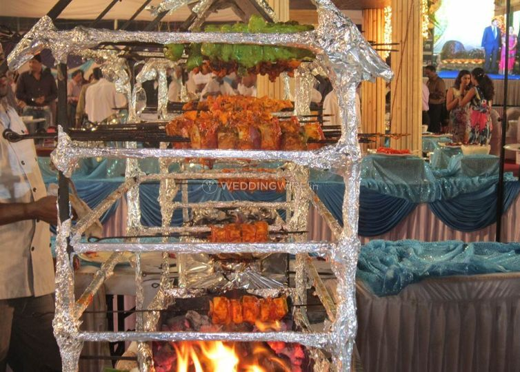 Veg tandoor counter