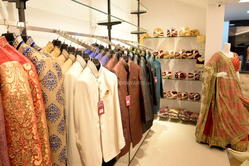 Sherwani and salwars