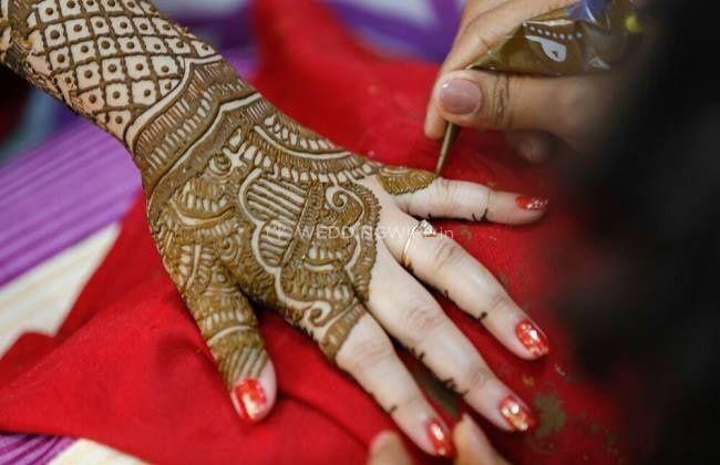 Meghna's mehendi & nail art