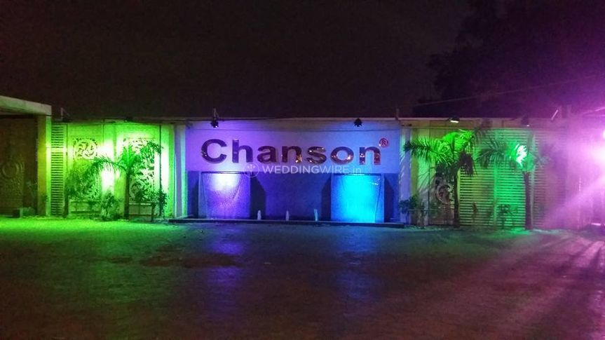 Entrance of Chanson Banquets