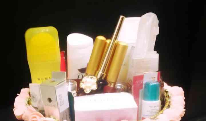 Cosmetics basket