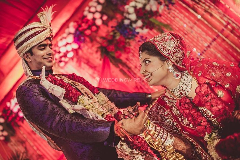 The bride and the groom of A1 Wedding Filmer