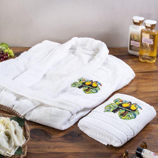 Customisable Bath Robe Set