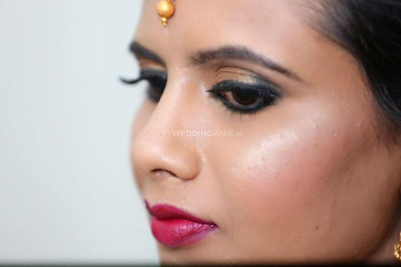 Makeup by Deepthi Udupa