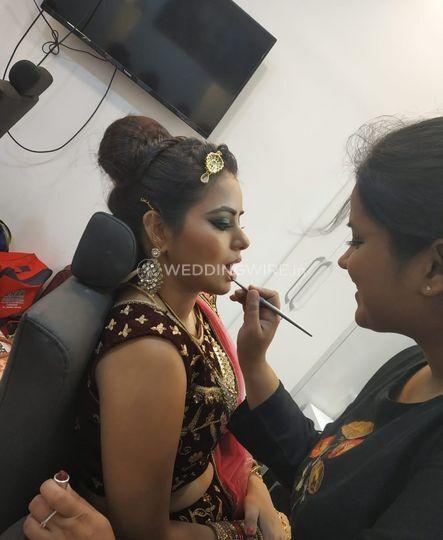 Bride In Making