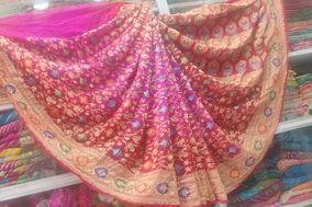 Anmol Bandhani Saree