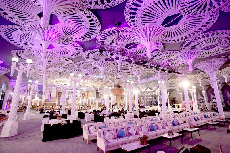 Extravagant weddings