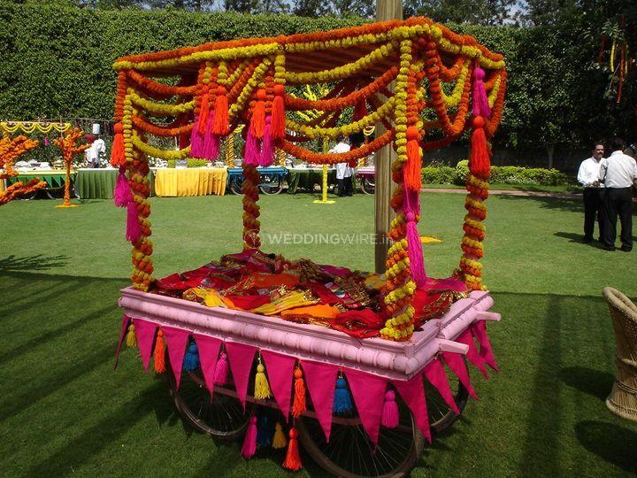 Rajasthani Theme Decor From Sudhanshu Tent House Photo 2