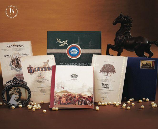 Baraat themed invite
