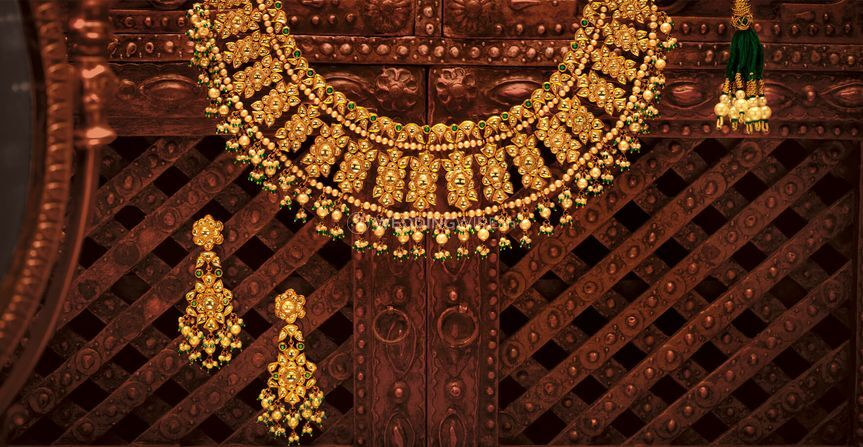 Gold necklace from Tanishq, Marathahalli | Photo 32