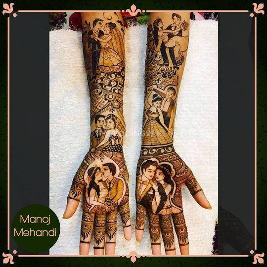 Manoj Mehandi Arts