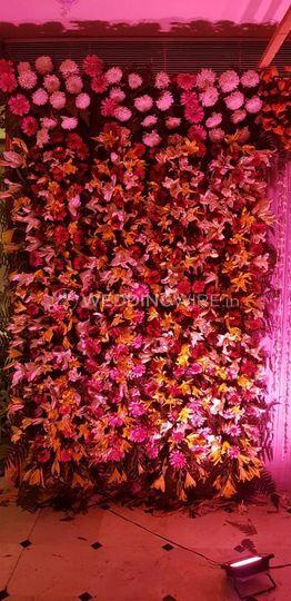 Stage flower decoration