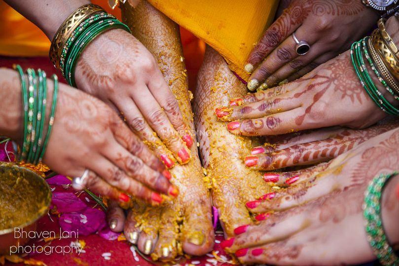 Bridal haldi