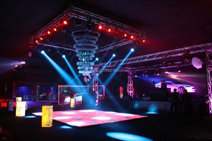 Sound, stage and led walls