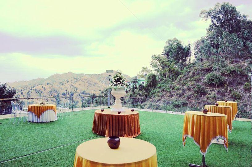 Wedding lawns