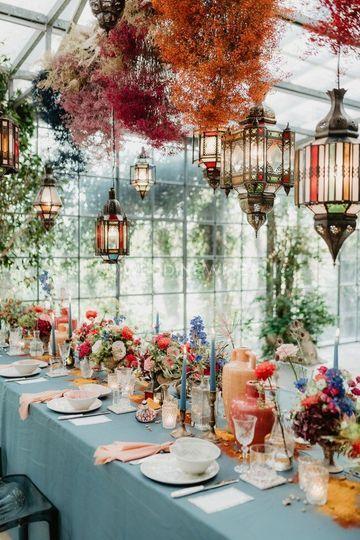 Traditional & elegant decor