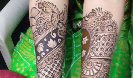 Ritik Rana Mehendi Art