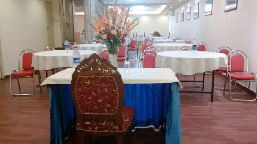 Wedding banquet space