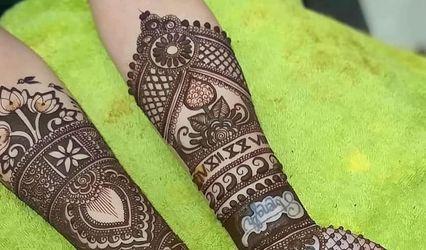 Modern Mehendi Art by Govind