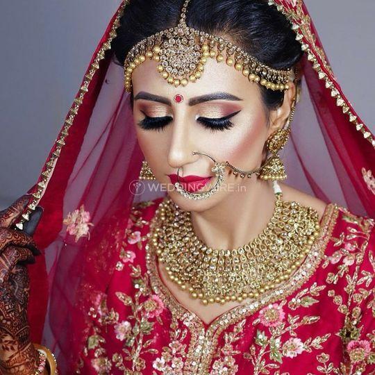Lips And Look By Alisha Sharma