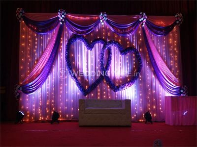 Stage decor and lighting