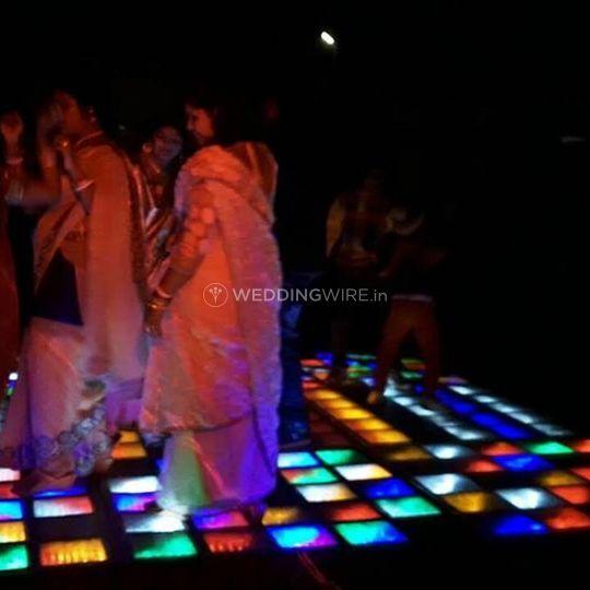 Lighting and dancefloor