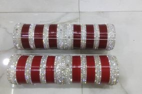 Wedding Churas, Stone n Metal Bangles, Lac