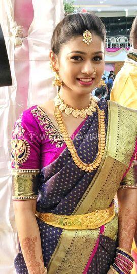 Manju on her Brother's wedding