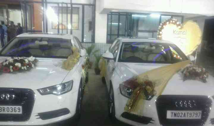Audi for bride and bridegroom