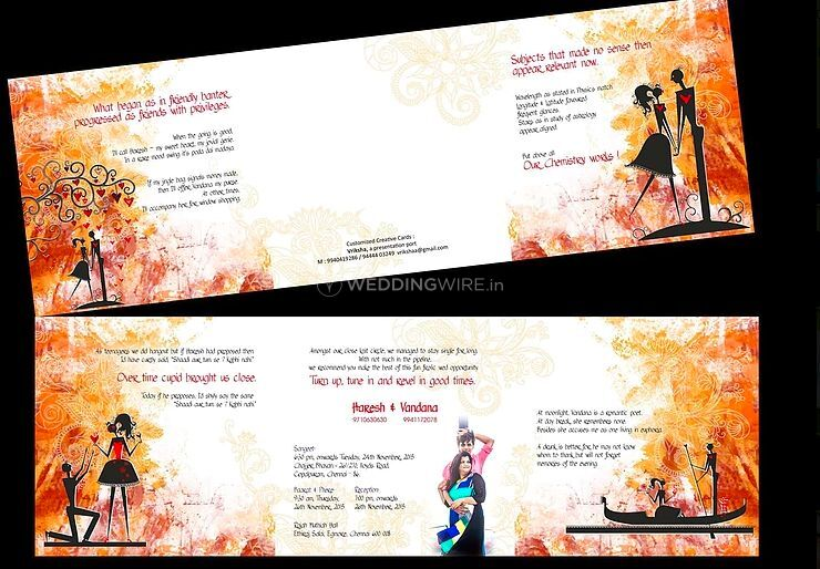 Wedding Invitations In Chennai: Vriksha, Chennai