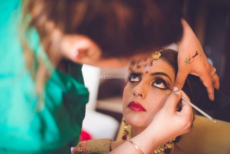 Mya Dang - Bride in Vogue