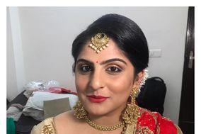 Glamour eyez makeup with Pallavi