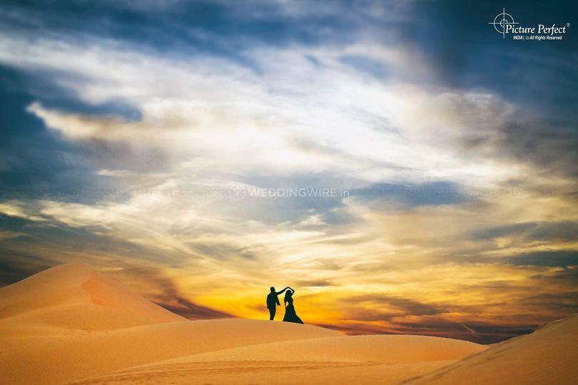 Stunning prewed shoot in Dubai