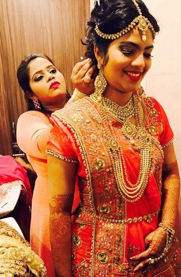 Sakshi Royal Makeup Art