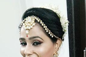 Khushi Mehndi & Makeover