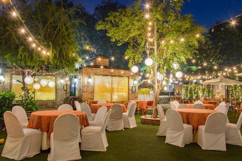 Wedding venue-Outdoor wedding decor