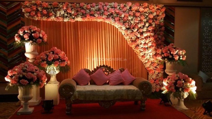 Wedding venue-Stage decor