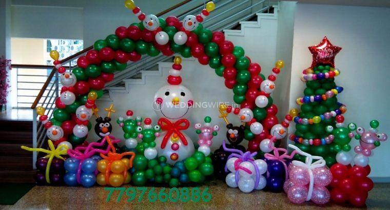 Balloon decoration any event
