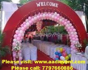 Balloon decoration in Kolkata