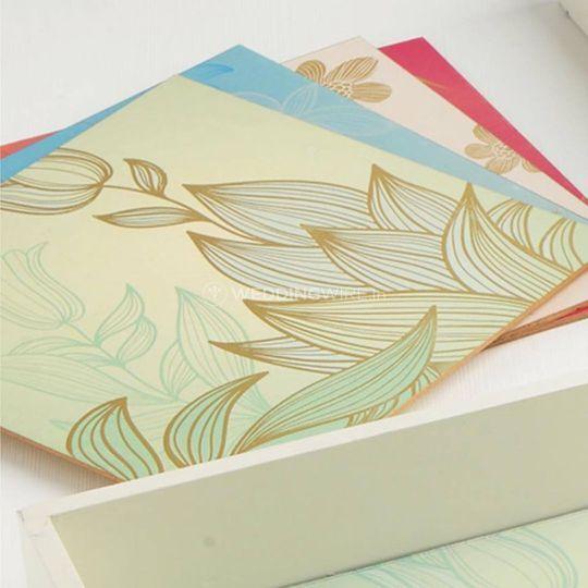 Wedding invitaiton card design