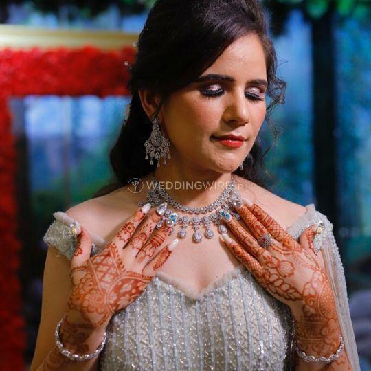 Engagement bride