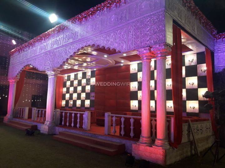 Banquet Halls - SS Grand Party Lawn and Banquet - event space  (8)