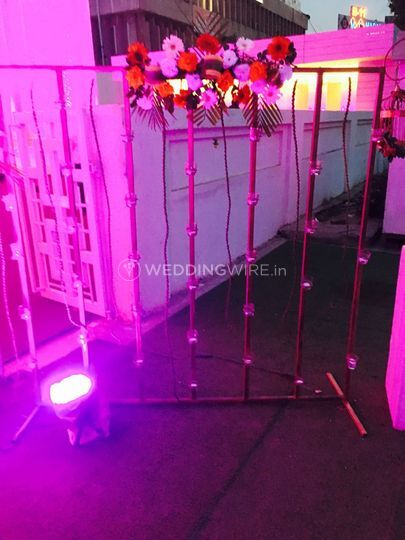 Wedding decor and lighting