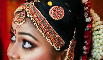 Bridal Makeup - Vanitha Artist, Secunderabad